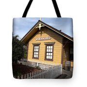 Ardenwood Historic Farm Railroad Station Tote Bag