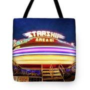 Area 51 Gravitron Tote Bag