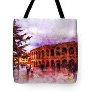 Arena Di Verona Tote Bag