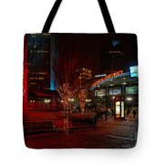 D66l-4 Arena District Photo Tote Bag