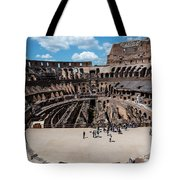 Arena Of Death And Glory Tote Bag