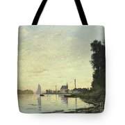 Argenteuil In Late Afternoon Tote Bag