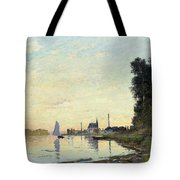Argenteuil, Late Afternoon Tote Bag