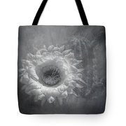 Argentine Giant Painted Bw Tote Bag