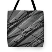 Aria Hotel Canopy Abstract Tote Bag