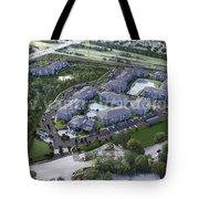 Arial View Exterior Rendering Design Ideas Tote Bag
