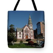 Arica Chile Church Tote Bag