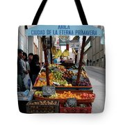Arica Chile Fruit Stand Tote Bag