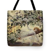 Ariel Tote Bag by John Anster Fitzgerald