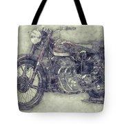 Ariel Square Four 1 - 1931 - Vintage Motorcycle Poster - Automotive Art Tote Bag