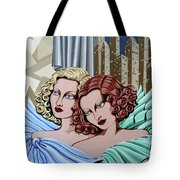 Arielle And Gabrielle Tote Bag by Tara Hutton