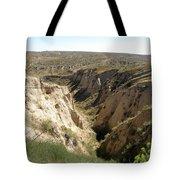Arikaree Breaks Canyon Tote Bag