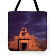 Arizona Adobe Mission Church 1939-2016 Tote Bag