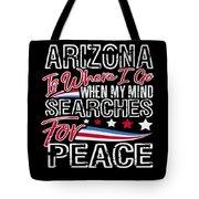 Arizona American Patriotic Memorial Day Tote Bag