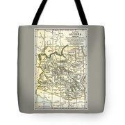Arizona Territory Antique Map 1891 Tote Bag