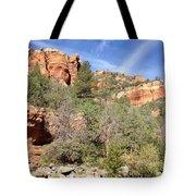 Arizona Canyon Sky Four Tote Bag