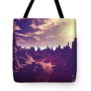 Arizona Canyon Sunshine Tote Bag