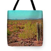 Arizona Desert Nice Place For A Walk Tote Bag