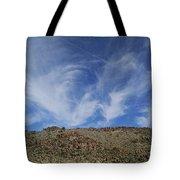 Arizona Foothill Sky Tote Bag