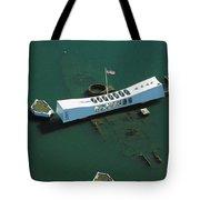 Arizona Memorial Aerial Tote Bag