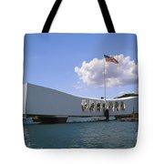 Arizona Memorial Tote Bag