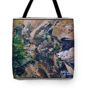Arizona River Mountains Tote Bag