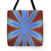 Arizona Saguaro Forest Abstract #2 Tote Bag