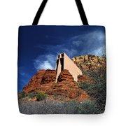 Arizona, Sedona  Chapel Of The Holy Cross Tote Bag