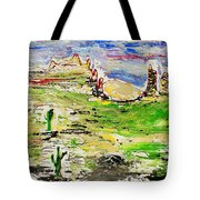 Arizona Skies Tote Bag