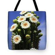 Arizona State Flower- The Saguaro Cactus Flower Tote Bag