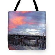 Arizona Tempe Town Lake Tote Bag