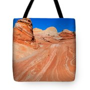 Arizona-utah- North Coyote Buttesthe Wave Tote Bag