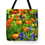 Arizona Wildflowers Tote Bag