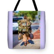 Arizonan In Asheville Tote Bag