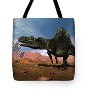 Arizonasaurus Dinosaur - 3d Render Tote Bag