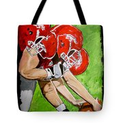 Arkansas Razorbacks Football Tote Bag