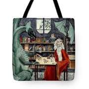 Arleas And The Wizard - Green Tote Bag