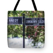 Arlington Cemetery Washington Dc Usa Tote Bag