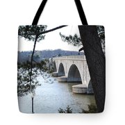 Arlington Memorial Bridge Tote Bag