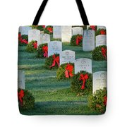 Arlington National Cemetery At Christmas Tote Bag