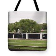 Arlington Park Race Track Tote Bag