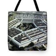 Arlington: Pentagon Tote Bag