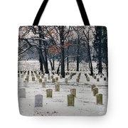 Arlington Winter Snow Tote Bag