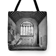 Armed Monk Mono Tote Bag