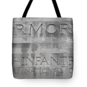 Armory Signage Tote Bag