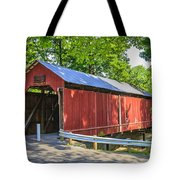Armstrong/clio Covered Bridge Tote Bag