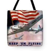 Army Air Corps Recruiting Poster Tote Bag