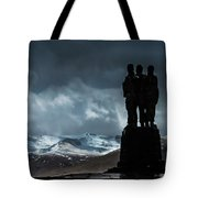 Army Commando Memorial  Tote Bag