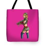 Army Girl B Tote Bag