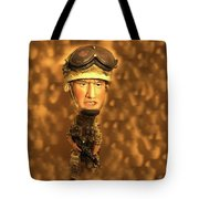 Army Guy Tote Bag